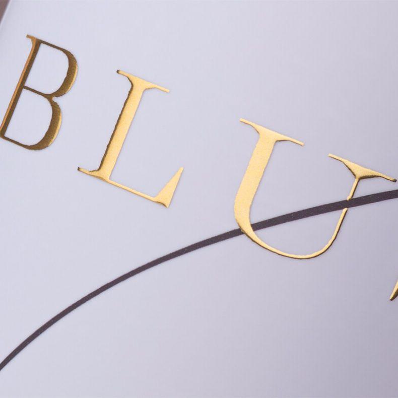 Blush Wine Label - Printed by Printing House Daga