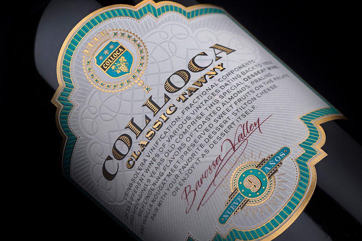 Colloca Vintage Label - Printing House Daga