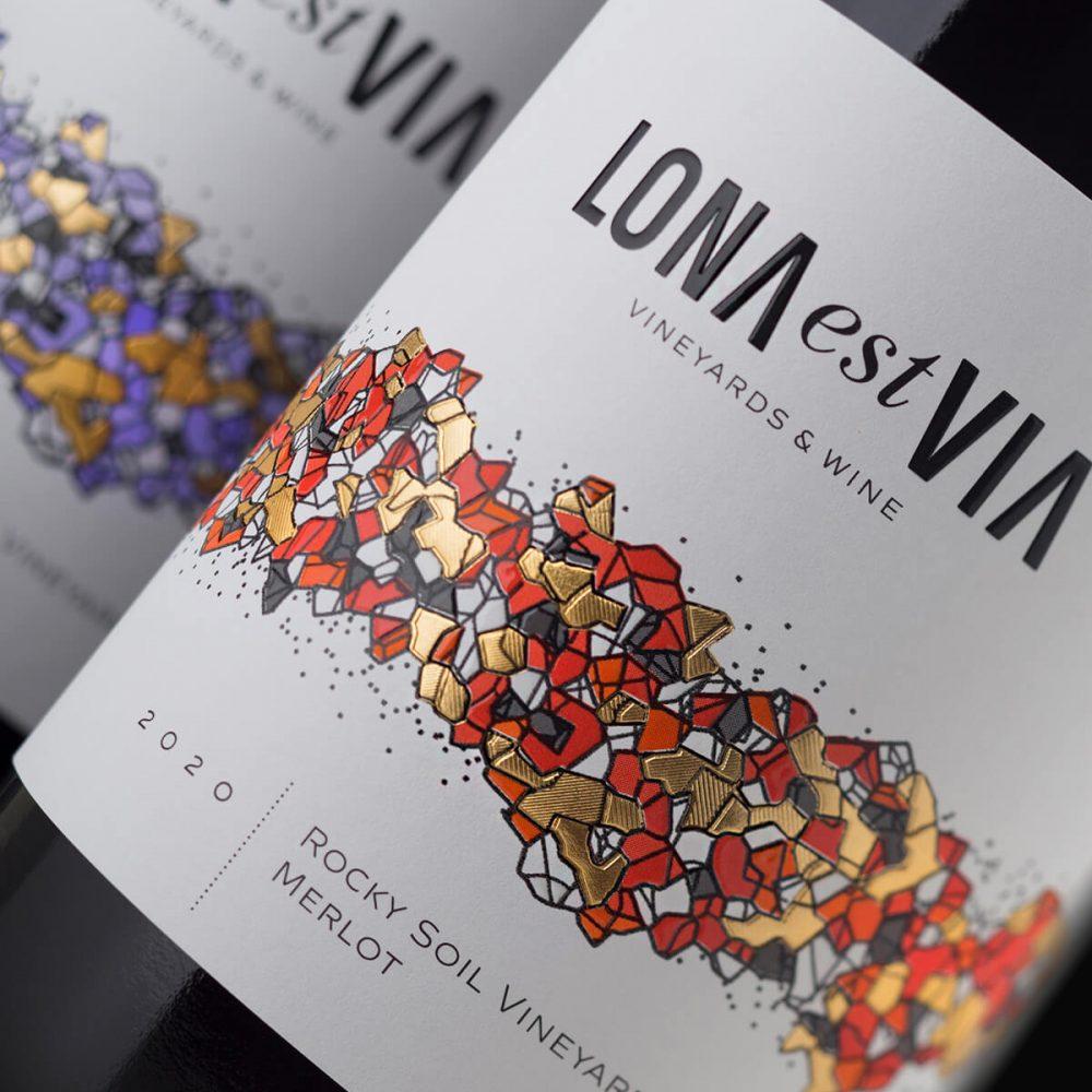 Lona Wine label printing