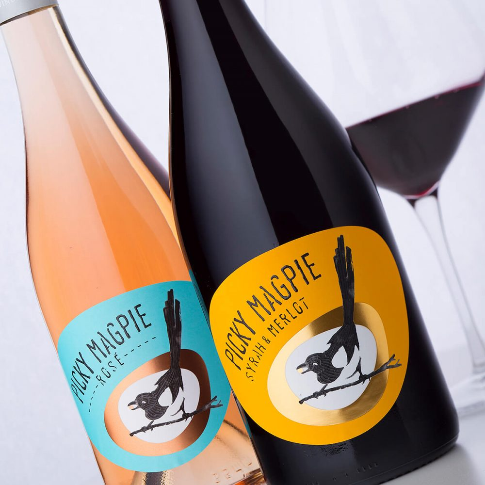Picky Magpie Label by Stratsin Winery - Bulgaria