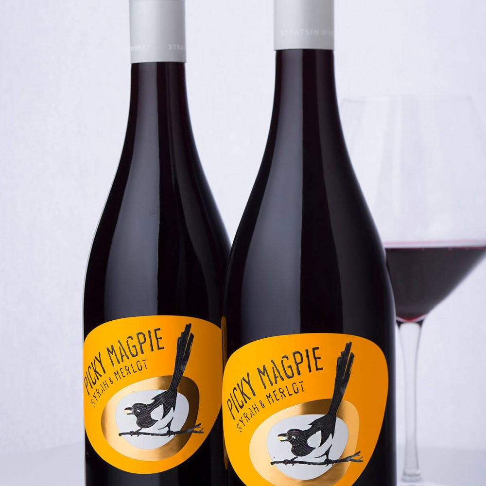 Picky Magpie Label printed by Printing House Daga