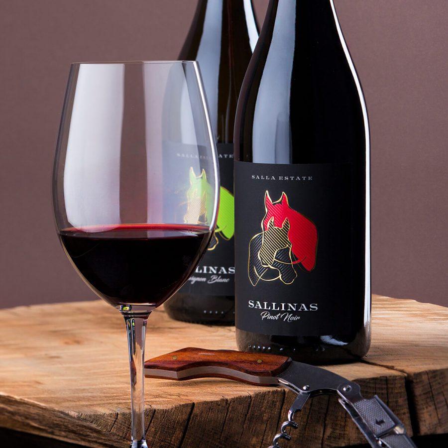 Sallinas Wine Labe Design - Thelabelmaker