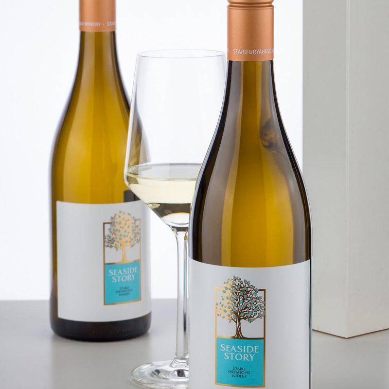 Seaside Story Wine Brand label