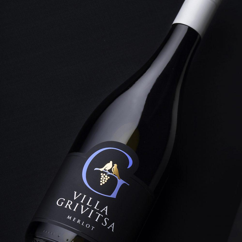 Villa Grivitsa Wine Labels